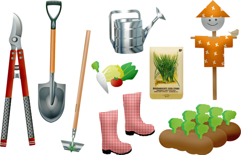 herramientas para jardineros